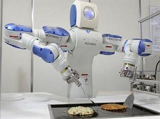 Gambar Robot koki
