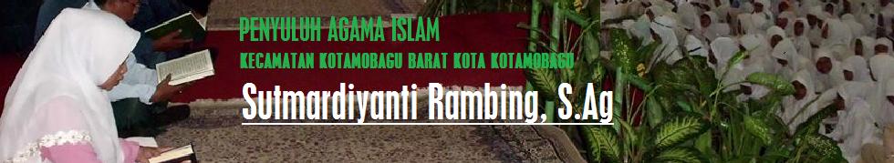 Penyuluh Agama Islam Kec. Kotamobagu Barat