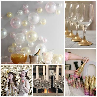 10 Idee fai da te per decorare la casa a Capodanno ...