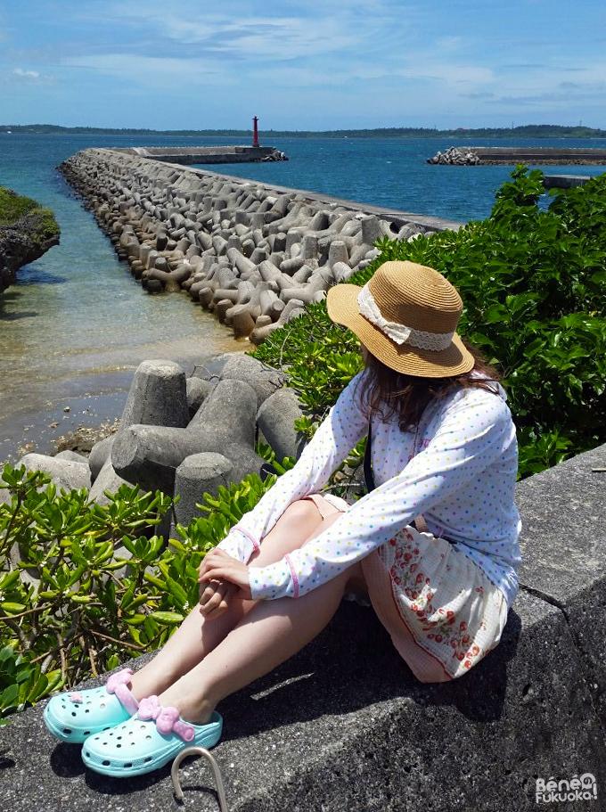 Béné à Ôgamijima, Okinawa
