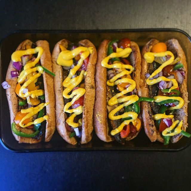 Meatless Monday Mushroom Faux Dogs
