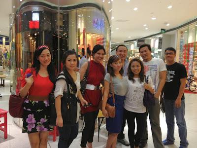 Trisha Sebastian Dinner in Yaku after the Vesper Worship Service with CCF GoSat People