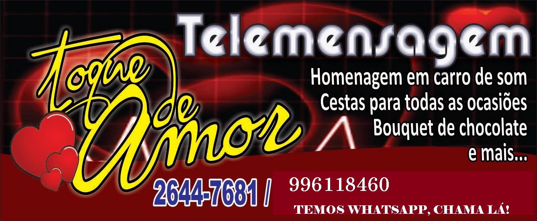 Telemensagens Cabo Frio (22)998371606  Agência Toque de Amor