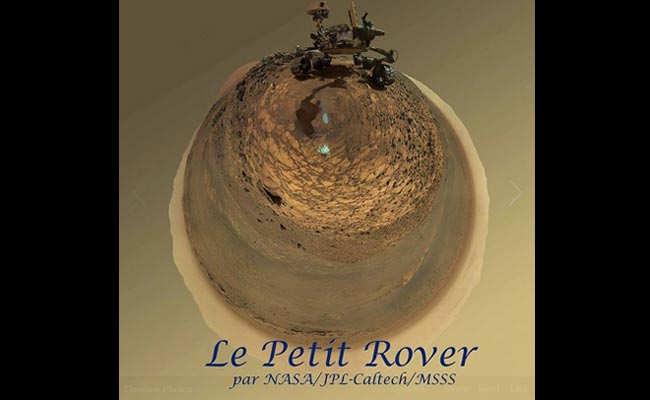 NASA Scientist Turns Mars Rover Selfie Into Art
