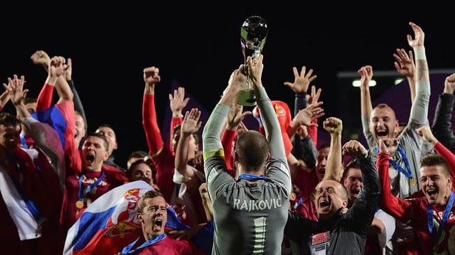 صربيا والبرازيل نهائي كأس العالم للناشئين تحت 20 Brazil U20 1 VS 2 Serbia U20