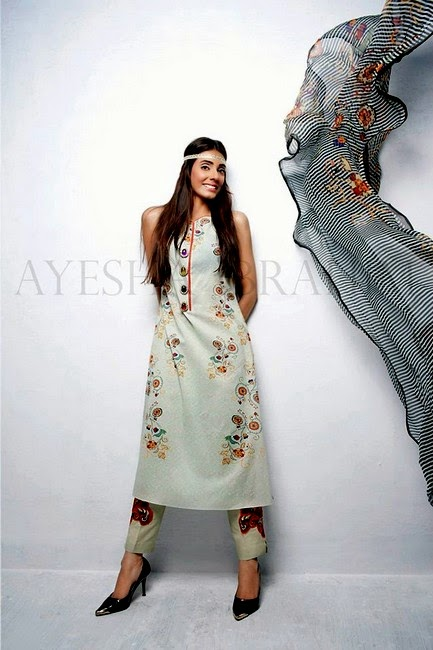 Ayesha Ibrahim Summer Collection 2014