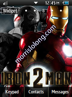Themes for a Phone - Corby 2 Theme IronMan 2 Theme