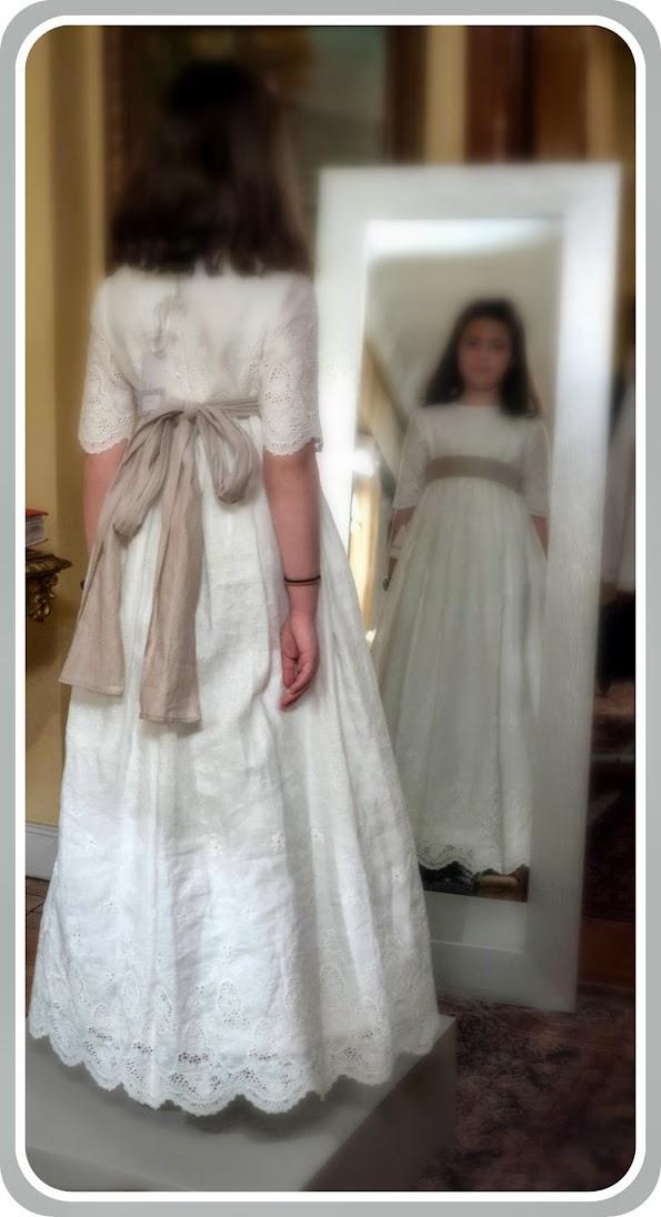 Vestido de comunión de Quémono