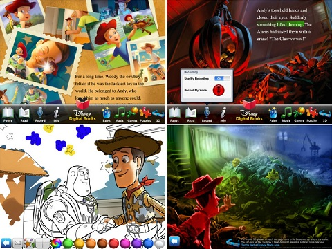 Toy Story 3 app