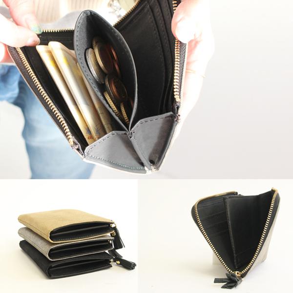 POMTATA / ポンタタ 軽量で小さいメタリック箔の財布 HAK SHORT WALLET