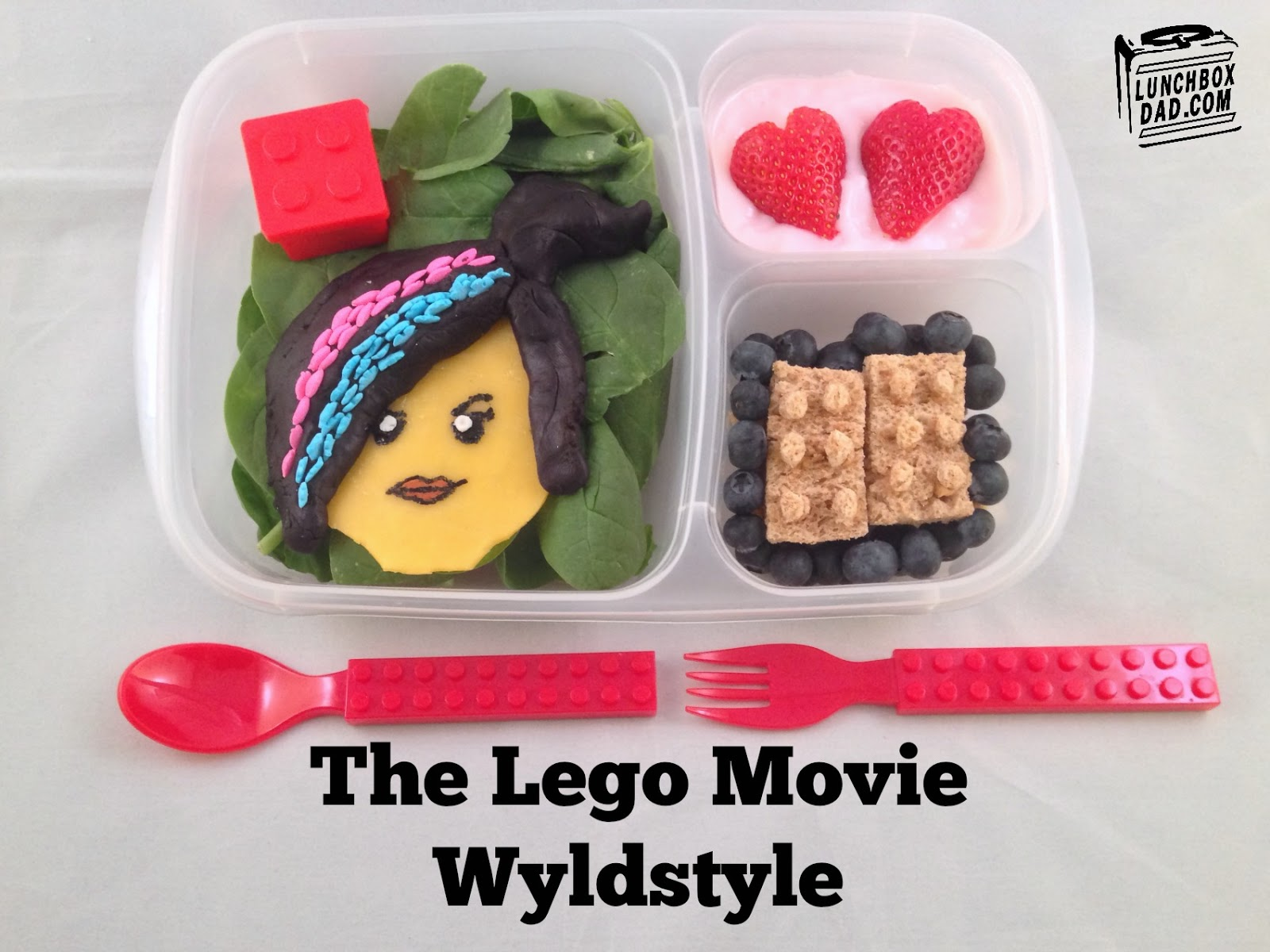 Lego Movie Wyldstyle Lunch