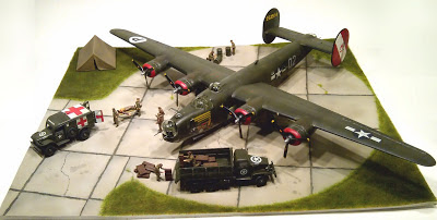 Ideas For Ww2 Airplane Dioramas http://bowemodels.blogspot.com/2013/05/technique-building-basic-wwii-era.html