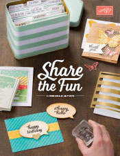 View the Current Stampin' Up! Catalogue.