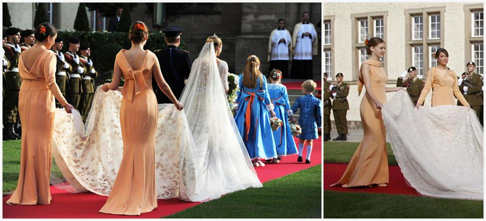 The Royal Order of Sartorial Splendor: The Luxembourg Royal Wedding ...