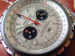 BREITLING CHRONOMATIC CHRONOGRAPHE CERTIFIE CHRONOMETRE - BROKEN WHITE DIAL - AUTOMATIC