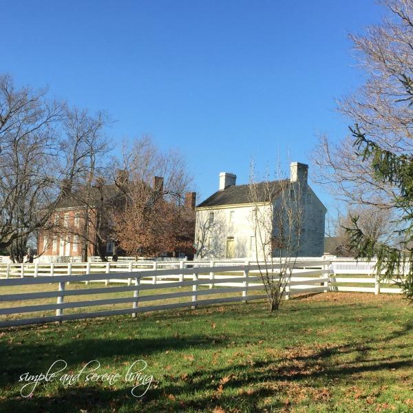 Shaker Village Kentucky winter