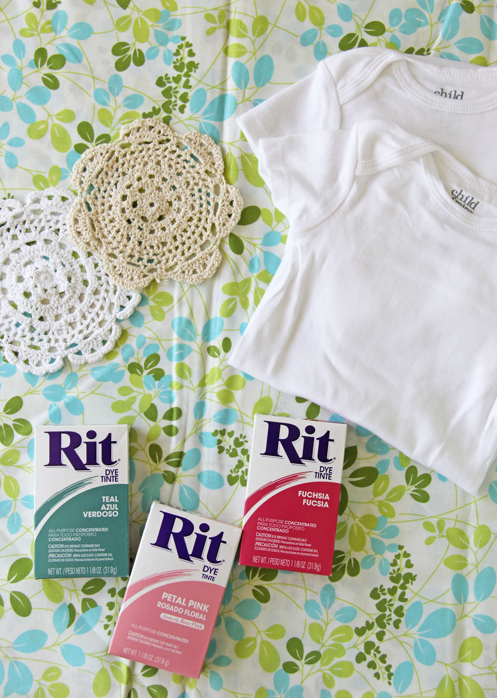 V And Co V And Co How To Baby Girl Onesies Dyeing With Rit Dye