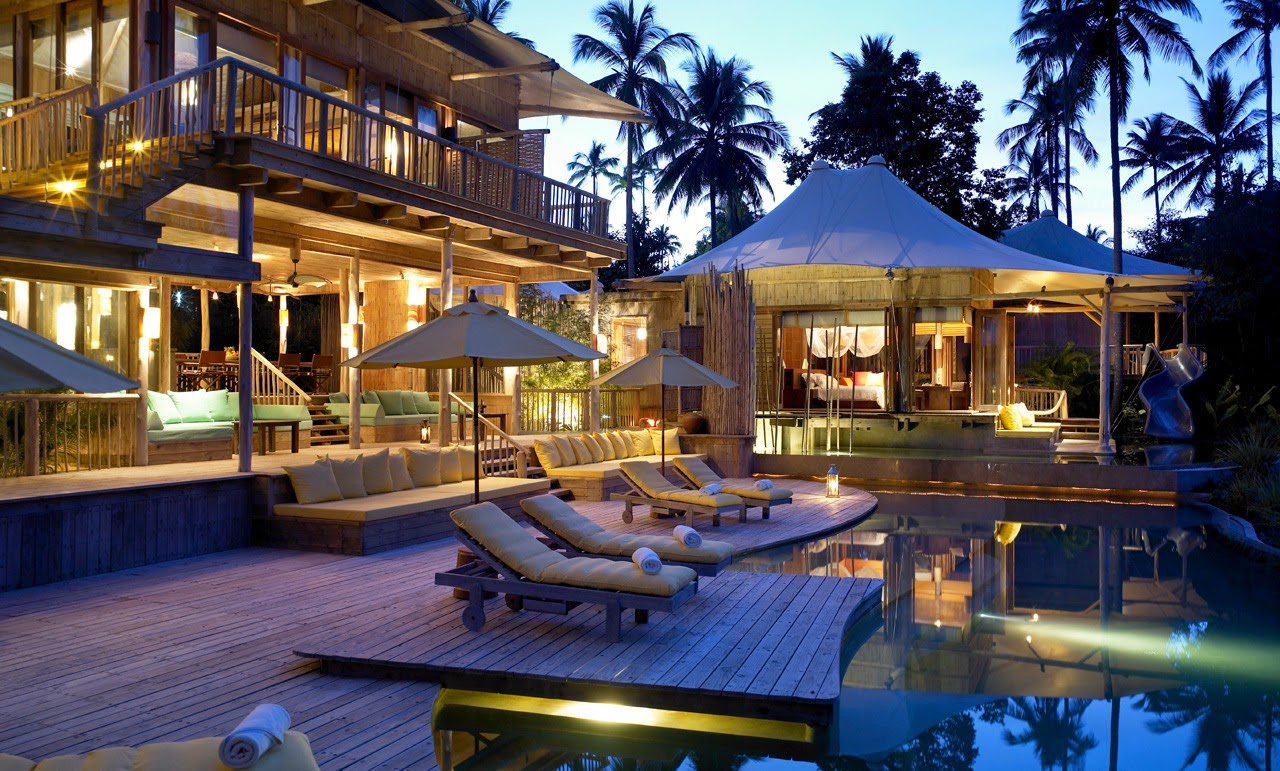 Tropical dreams tropical dreams most beautiful resorts for Most luxurious beach resorts in the world