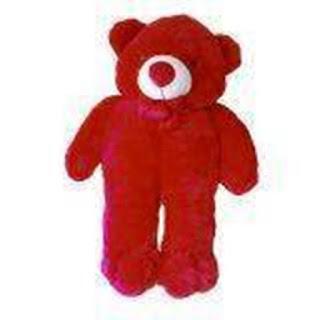 Boneka Teddy Bear Jumbo Merah