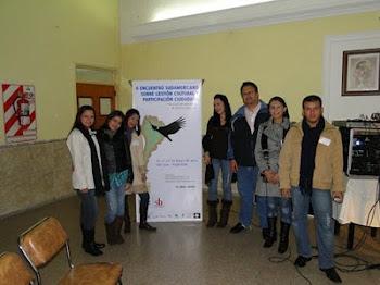 II ENCUENTRO SUDAMERICANO SOBRE GESTION CULTURAL Y PARTICIPACION CIUDADANA