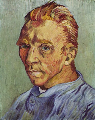 "Picture of ""Self Portrait without Beard"" by Vincent van Gogh, 1890"