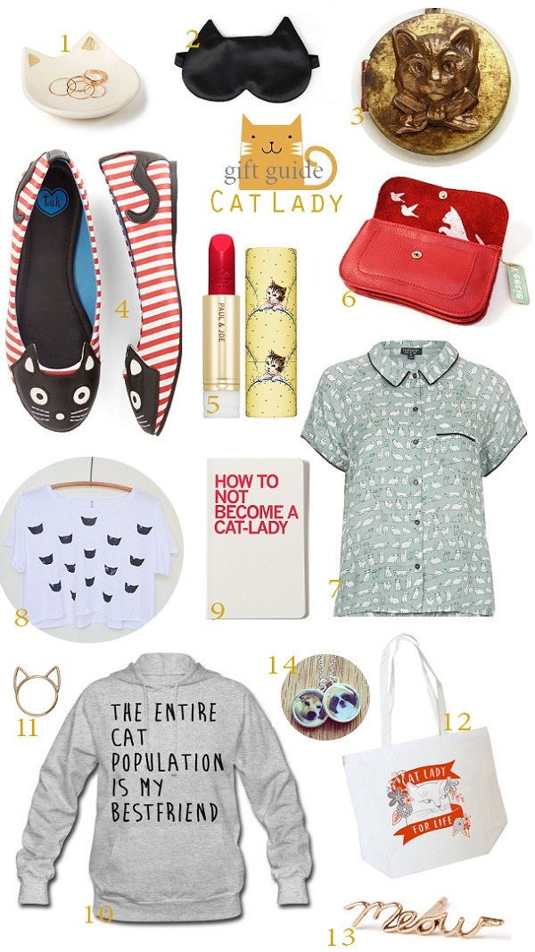 Express o christmas gift guide 4 cat lady any cat ladies out there todays gift guide is for all those wonderful cat loving girls in your life from your beloved aunt who wears cat slippers negle Image collections