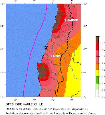 Cientificos alemanes alerta megaterremoto en el norte de Chile
