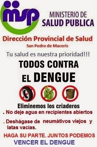 TODOS CONTRA EL DENGUE.