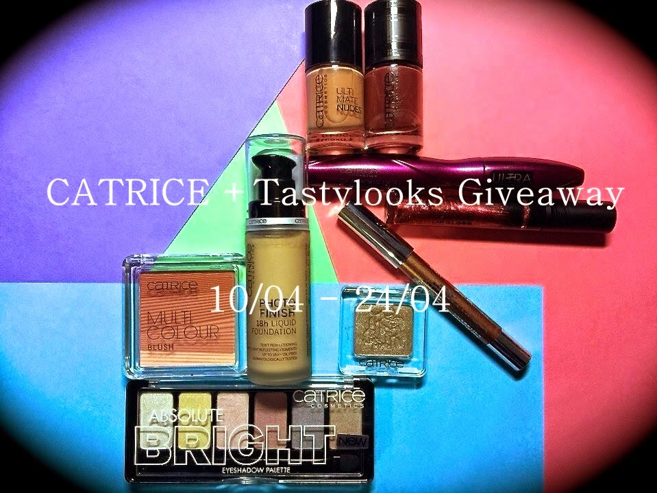 CATRICE + Tastylooks Giveaway 10 - 24/04