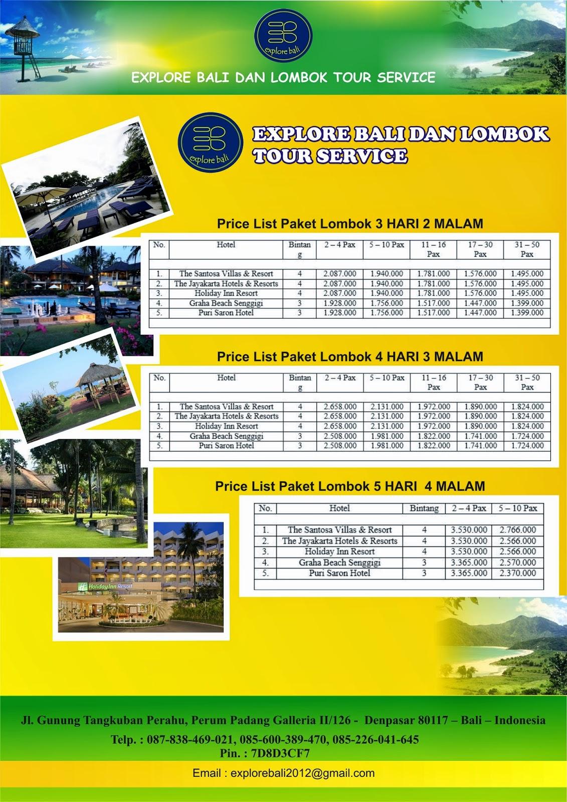 Paket Tour Wisata Lombok Dan Bali Blog Pembelajaran Trip 3h2m