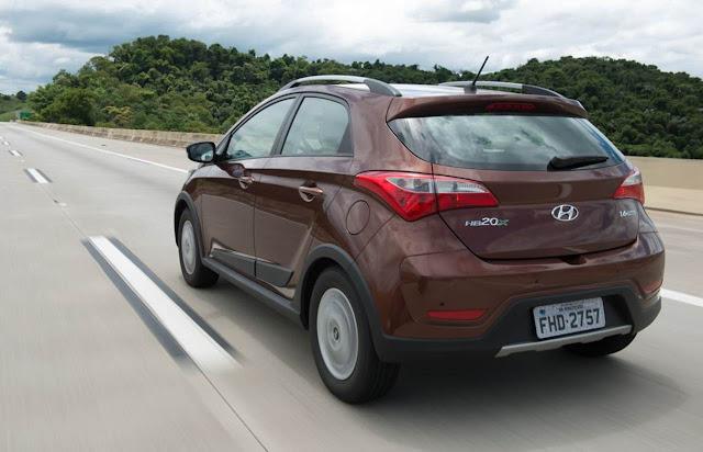 Novo Hyundai HB20 X 2014 - lançamento