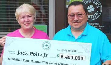 Jack Poltz Jr - Washington State Lotto Winner