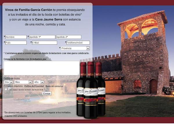 Concurso Bodaclik 200 botellas de vino para nuestros invitados