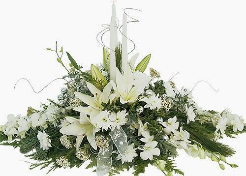 Centros de mesa de navidad con flores parte 3 - Centros navidenos de mesa ...