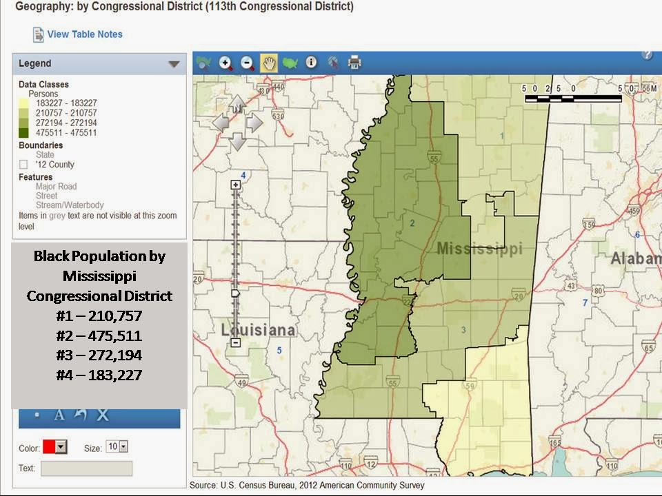 Gerrymandering In Mississippi Sleepless In Baghdad - Ms district 1 us congressional map