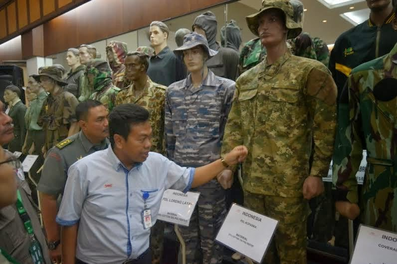 Kopaska TNI AL gunakan baju anti nyamuk buatan Sritex Sukoharjo