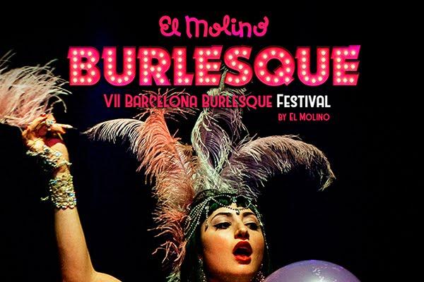 SORTEO 2 INVITACIONES DOBLES PARA ASISTIR AL BARCELONA BURLESQUE FESTIVAL EN EL MOLINO