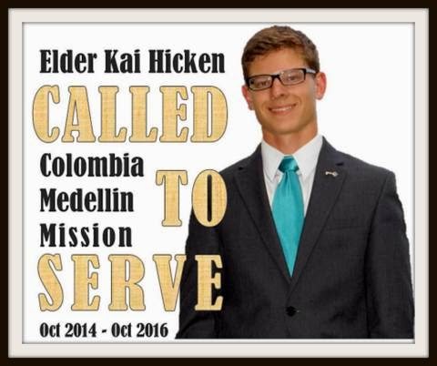 Elder Kai Hicken: The Missionary