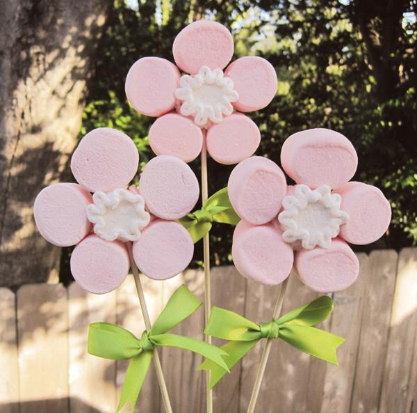 Popolare Biancoperla Wedding: Fiori Marshmallow per un dolce regalo di San  SP97