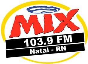ouvir a Rádio Mix FM 103,9 ao vivo e online Natal