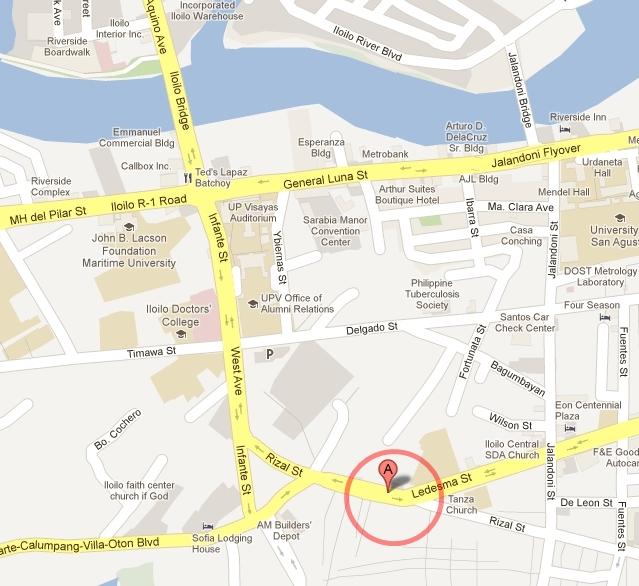 The JAKE POSITIVE BLOG ILOILO CITY SOCIAL HYGIENE CLINIC SERVICES - Iloilo city map