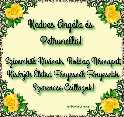 Május 31 - Angéla névnap