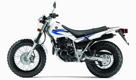 Gambar Motor Trail Yamaha