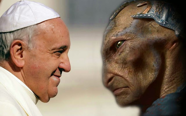 Pope Francis Says He Would Baptise Aliens