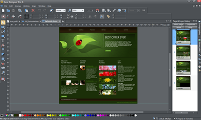 Xara photo and graphic designer. Xara Designer Pro X 10.1.3.35257.