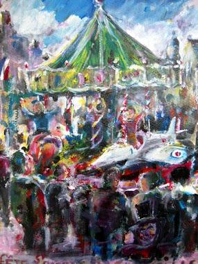 Peinture Fête de la Carneille