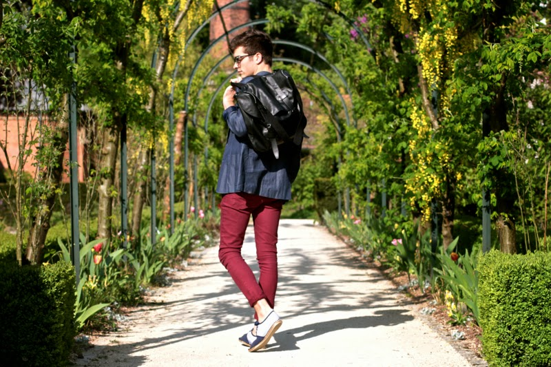 Givenchy Messenger Bag - asos skinny jeans burgundy bordeaux - BLOG MODE HOMME MENSFASHION