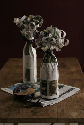 Home quotes 20 creative gift wrapping ideas for christmas for Cool wine bottle ideas