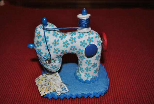 acerico de maquina de coser