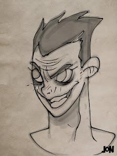 dessinateur illustrateur graphiste animateur bande dessinee croquis illustration crayonne animation graphisme artist illustrator graphic design animator comic book sketch sketches jonathan jon lankry dc batman harley quinn killer croc joker mad hatter